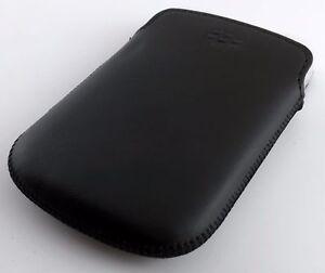 Blackberry-Bold-9900-9930-9720-Pocket-Leather-Case-HDW-38844-001-Black-NEW