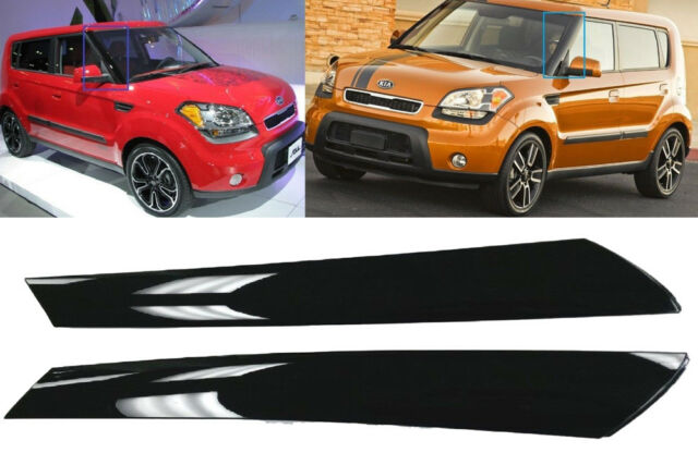 Genuine Front Wind Shield Pillar Trim Garnish Molding Fits Kia 2010 2017 Soul