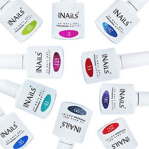 Miss-Nails-Color-Top-y-Base-Coat-Led-Uv-Unas-De-Gel-Soak-Off-polaco-Botella-10-Ml