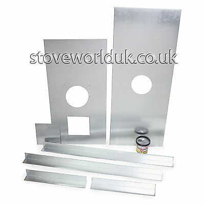 """STEEL REGISTER CLOSURE PLATE, BLANKING PLATE CHIMNEY STOVE STOVES 5"""" 6"""" ."""