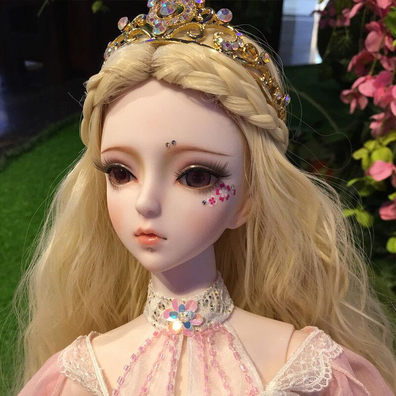 Nuevo 1 3 PVC hecho a mano muñecas articulación de muñeca de BJD MSD realista Bebé Regalo Nuevo Melody 24