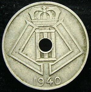 1940 Belgique Belgique Belgie 5 Cents Centimes Y7mksdtl-08004755-177005462