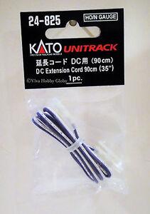 Kato-24825-HO-N-Gauge-Unitrack-DC-Extension-Cord-90cm-35-034-1pc-New