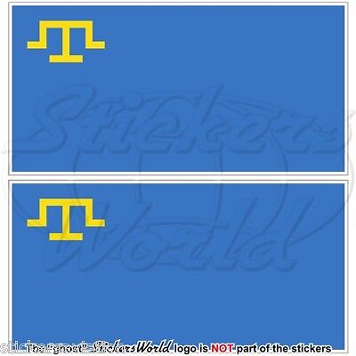 Vinyl Bumper Stickers 100mm Decals x2 BELGIUM Belgian Flag 4
