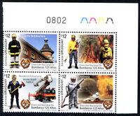 URUGUAY 2012 - FIREMEN Complete Set MNH VF