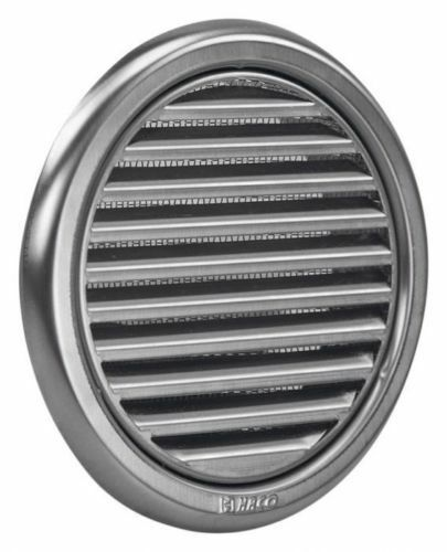 Circular Stainless Steel Air Vent Grille Wall Cover 100mm