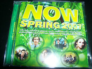 NOW-2007-Various-CD-Ft-Silverchair-Lisa-Mitchell-Ricki-Lee-Evermore-Kisschasy