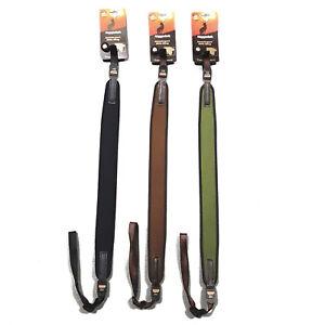 Niggeloh-Shooting-Neoprene-Rifle-Sling-Hunting-German-Slings-Brown-Green-Black