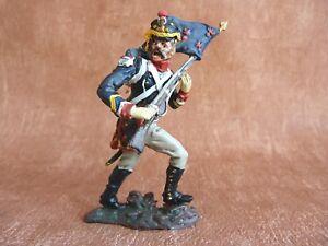 Soldat-de-plomb-napoleonien-1er-rgt-de-tirailleur-de-la-garde-imperiale-Fanion