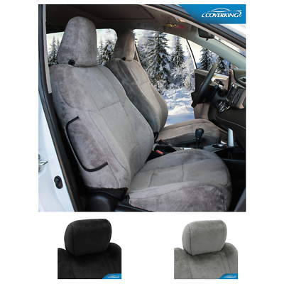 Coverking MODA Synthetic Leather Custom Front Seat Covers for Acura RSX