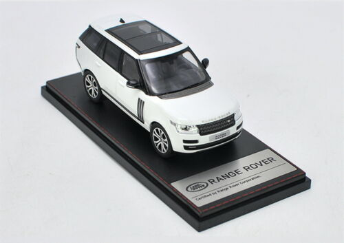 LCD 1//43 Scale Land Rover Range Rover SUV White Diecast Car Model Collection