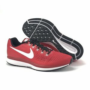 d63e4ca5a4d0 Nike Air Mens Zoom Pegasus 4 34 TB University Red White Black Shoes ...