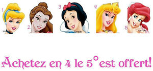 Princesses-Disney-Stickers-autocollant-ongles-manucure-nail-art-water-decal-deco