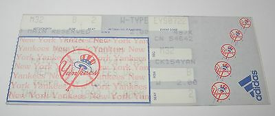 Sports Mem, Cards & Fan Shop Baseball-other 1999 New York Yankees Baseball Ticket Stub Andy Pettitte 7th Win Rivera 27 Save Refreshing And Beneficial To The Eyes
