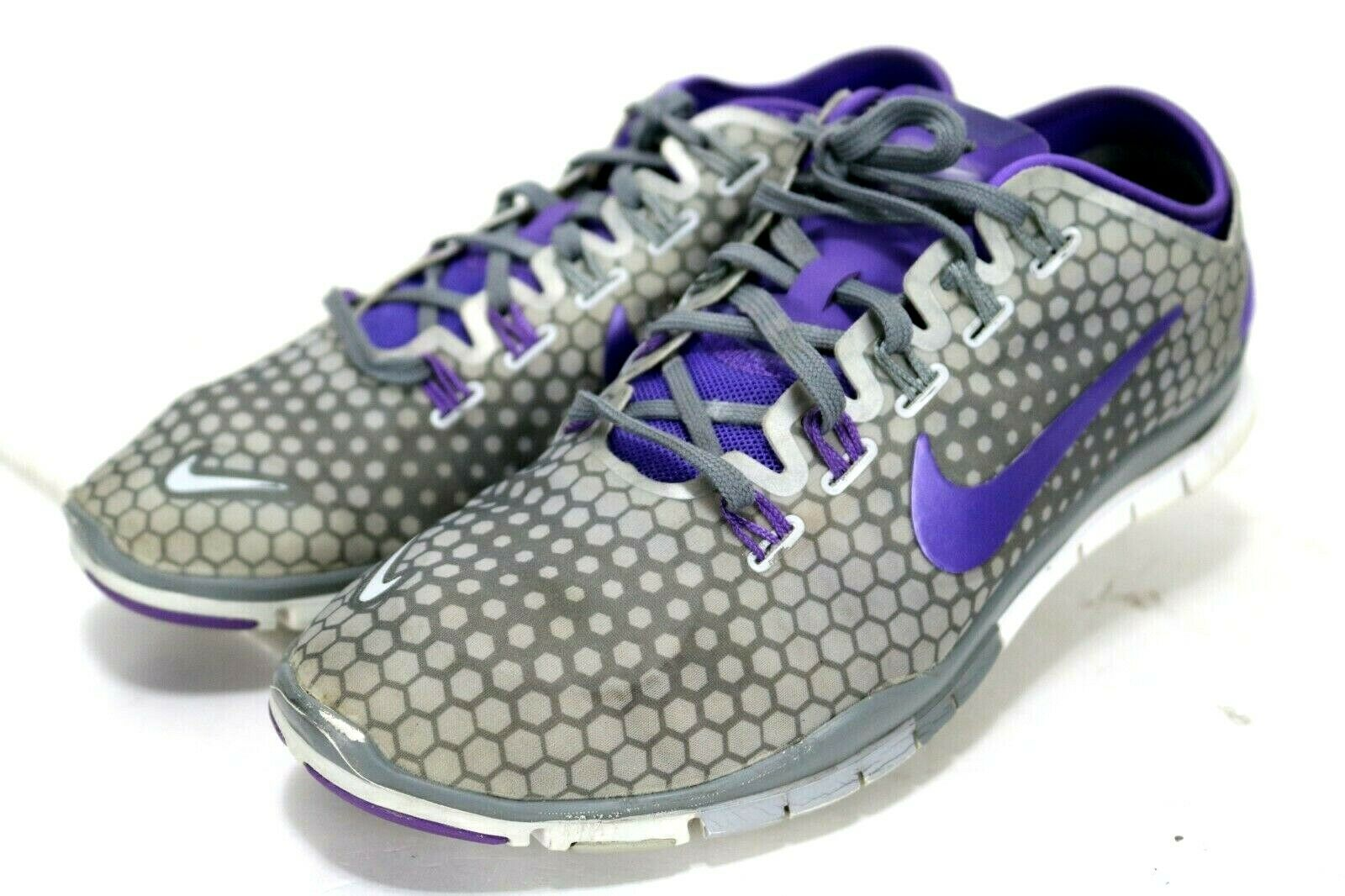 NIKE Free TR Connect 2  Women's Training shoes Size 9 Purple Grey