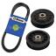 Drive-Belt-amp-Idlers-for-John-Deere-LX172-LX173-LX176-LX178-LX186-LX188-Tractors thumbnail 1