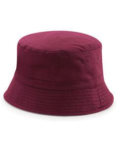 5bb95bb57d0 Image is loading BEECHFIELD-BUCKET-HAT-REVERSIBLE-SHORT-BRIM-FLAT-TOP-