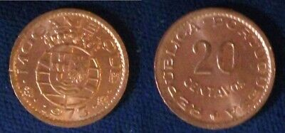 EF Portuguese Mozambique coin 20 Centavos 1974 km88 Africa