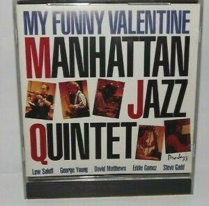Manhattan Jazz Quintet CD My Funny Valentine Lew Soloff ...