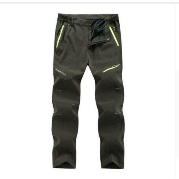 Camping Trekking Pants  Herren Trousers Survival Trekking Camping Hiking Army Travel Light Weight b788ca
