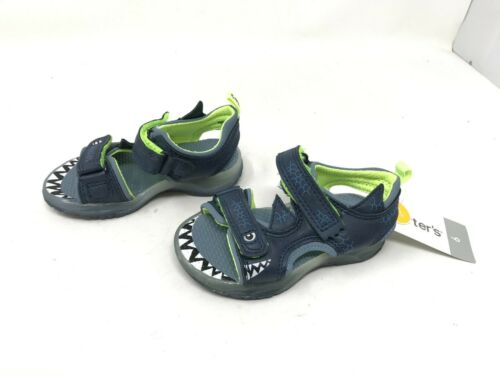 457C Funny Navy sandals CS180332 Boys Toddlers Carters
