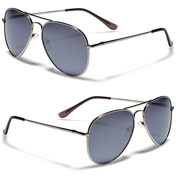 dfdadba29c Polarized Men Classic Vintage Aviator Sunglasses Pilot Glasses Spring Hinge  for sale online   eBay