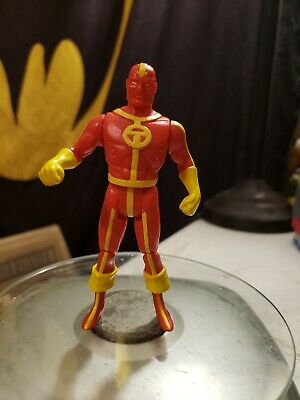 DC SUPER POWERS SERIES JLA JUSTICE LEAGUE RED TORNADO FIGURE KENNER 1985