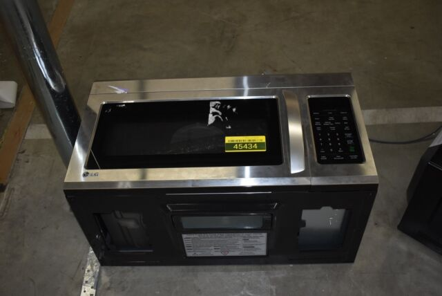 "LG LMV1831ST 30"" Stainless Over-The-Range Microwave NOB #45434 HRT"