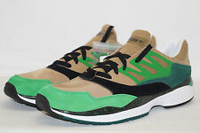 adidas originals TORSION ALLEGRA Gr.43 1/3 UK 9,5 grün braun schwarz forest