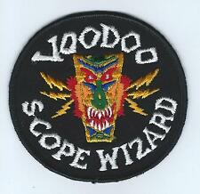 60s-70s F-101 VOODOO SCOPE WIZARD patch