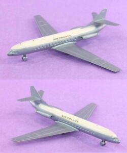Avion Solido Caravelle Bleue / Jouet Ancien Plane