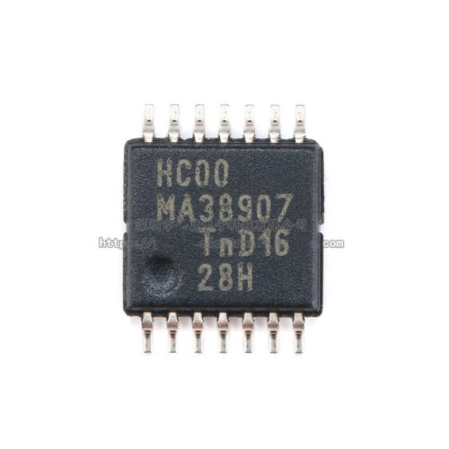 10pcs Original 74HC00PW TSSOP-14 logic chip NAND gate 2 input