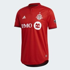 2019 Adidas Men's Toronto FC Home Soccer MLS Jersey Red Size S GE5902