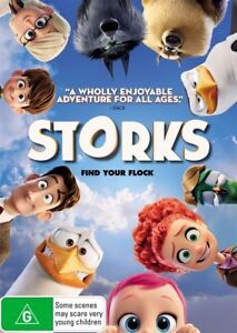 Storks-DVD-Region-4-VG-Condition