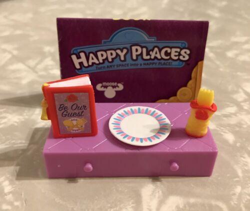 Shopkins Disney Happy Places Belle Home Decor Menu Plate Fork Set BUY 6 G 2 FREE