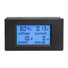 Voltmeter DC 6.5-100V 20A Amperage Power Energy Meter for Auto Car Battery