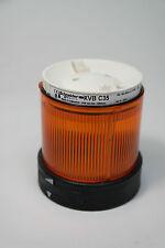Schneider Electric XVB-C35 Signalleuchte Signalsäule Led orange  Warnleuchte NEU
