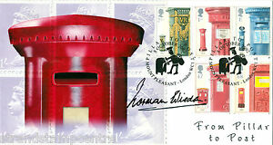 2002 Post Boxes - Steven Scott Official - Signed By NORMAN WISDOM