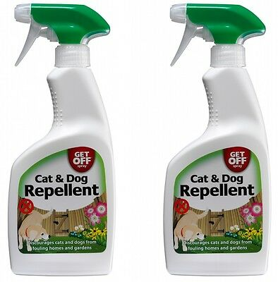 Get Off Cat & Dog Repellent Spray Anti Fouling For Indoor & Outdoor Use Carpet