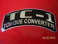 Vintage Rupp Torque Convertor Replacement Sticker (new)
