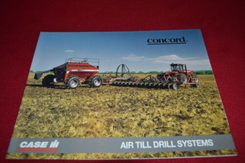 Case International Concord Air Till Drill Systems Dealer Brochure AE124095 LCOH