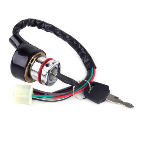 Motorcycle Ignition Switch 3 Position 6 Wire 2 Keys fit for Scooter ATV Go Kart
