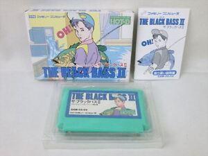 THE-BLACK-BASS-II-2-Famicom-Nintendo-fc