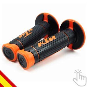 Ktm-Duke-125-200-390-690-990-Xf-Exf-Punos-Manillar-Grips-Handle-Motocross-Enduro