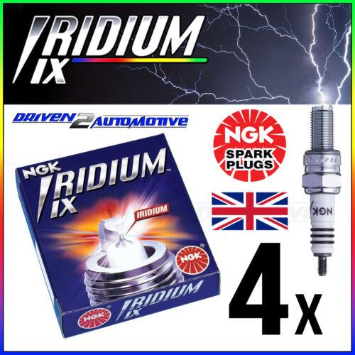 4x NGK IRIDIUM IX BPR6EIX 6637 SPARK PLUGS JOHNSON 70 hp  02–/>05 UPGRADE