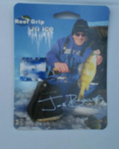 For Fishing Reels Blue /& White Reel Grip On Ice-Slip on Reel Handle Grip Cover