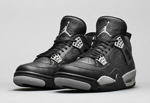 Air Jordan 4 IV Retro Black Tech Grey Oreo 2015 408452-003 bred ... f13d4ede94af