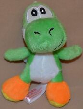"5"" Yoshi Dinosaur Dino Plush Dolls Toys Stuffed Animal Super Mario Brothers Bros"