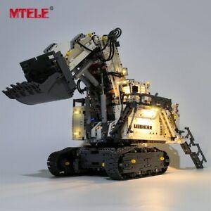 LED-Light-Up-Kit-For-LEGO-42100-Technic-Liebherr-R-9800-Excavator-Lighting-Set