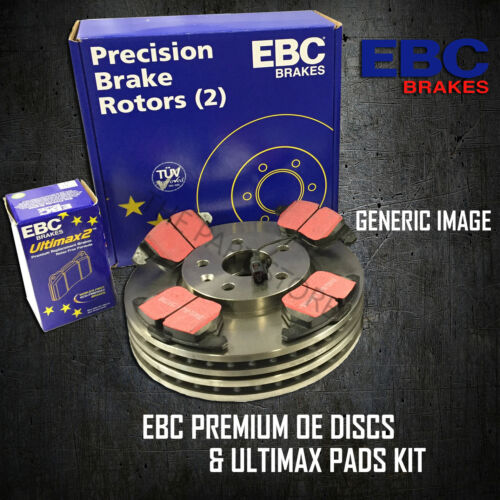 NEW EBC 211mm FRONT BRAKE DISCS AND PADS KIT BRAKING KIT OE QUALITY PDKF564